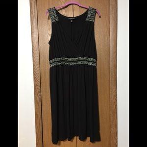 Lane Bryant Dress, Black & White